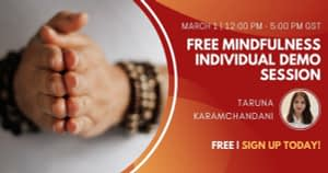 Free Mindfulness Individual Demo Session