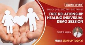 Free Relationship Healing Individual Demo Session