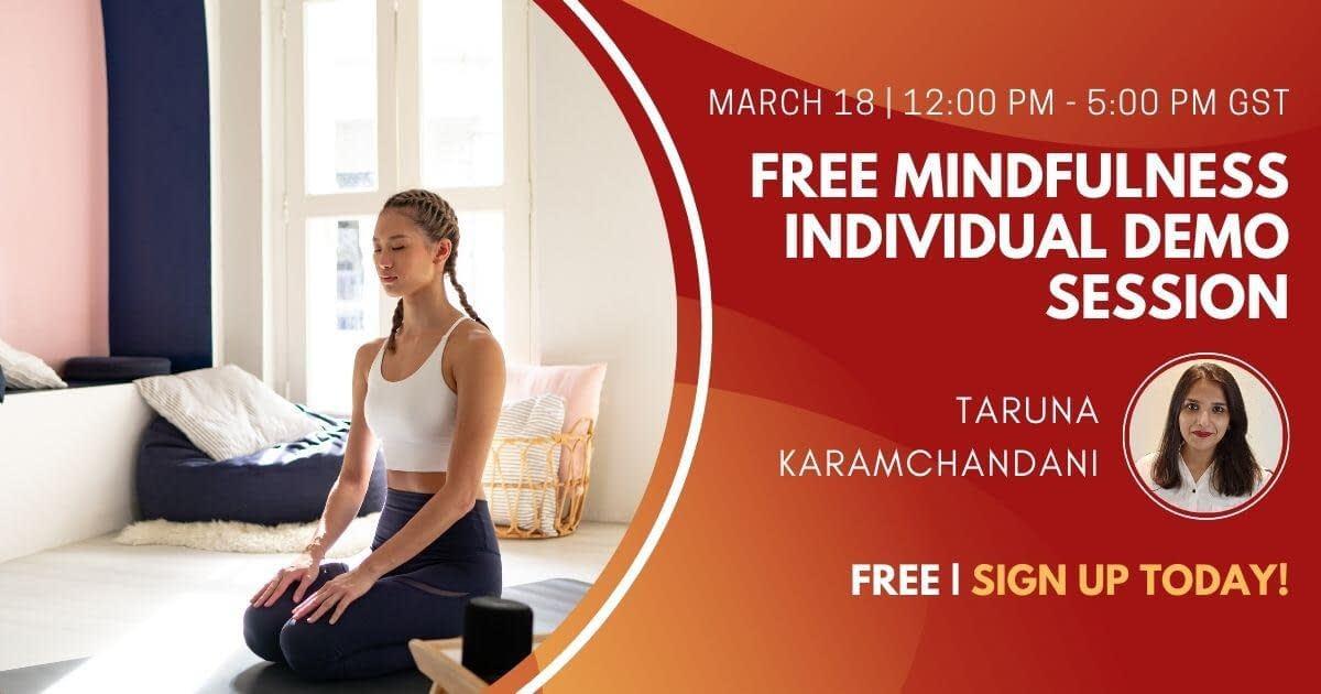 Free Mindfulness Individual Demo Session