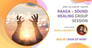 Raaga – Sound Healing Group Session 16