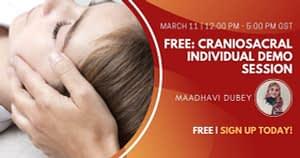 Free Craniosacral Individual Demo Session