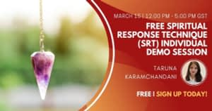 Free Spiritual Response Technique (SRT) Individual Demo Session