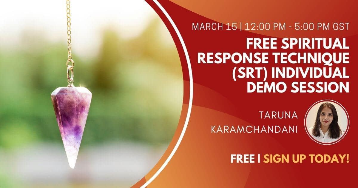 Free Spiritual Response Technique (SRT) Individual Demo Session