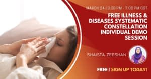 Free Illness & Disease Systematic Constellation Individual Demo Session