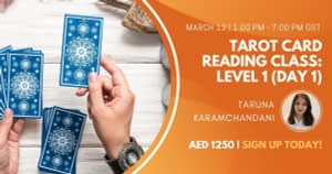 Tarot Card Reading Level 1 Day 1