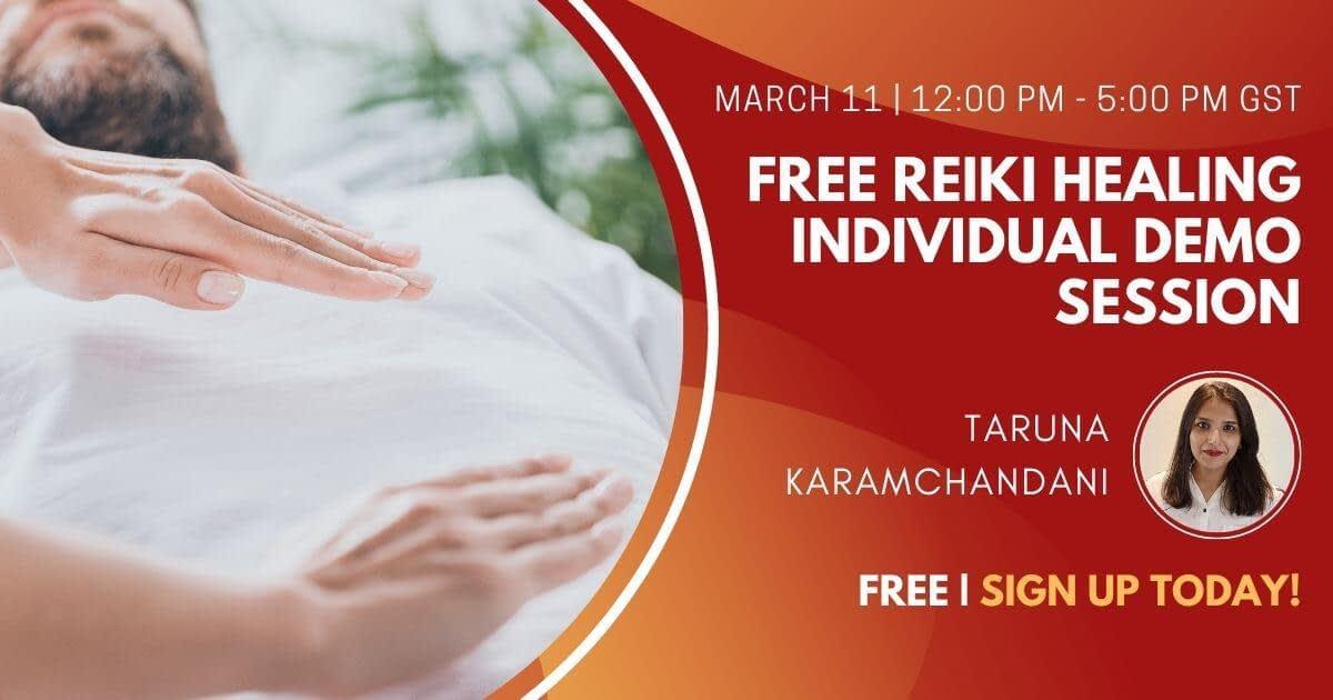 Free Reiki Healing Individual Demo Session