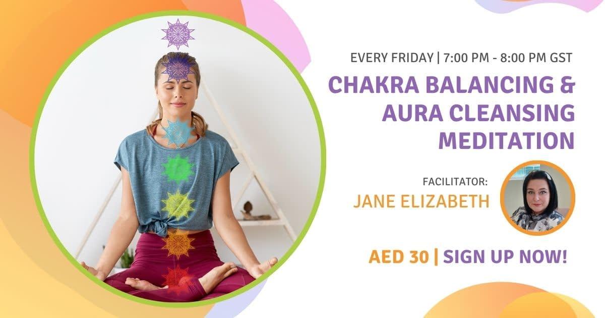 Chakra Balancing & Aura Cleansing Meditation
