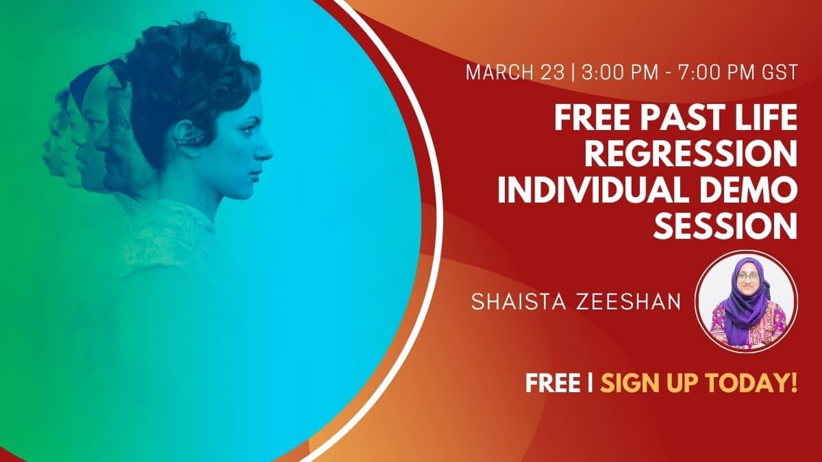 FREE Past Life Regression Individual Demo Session
