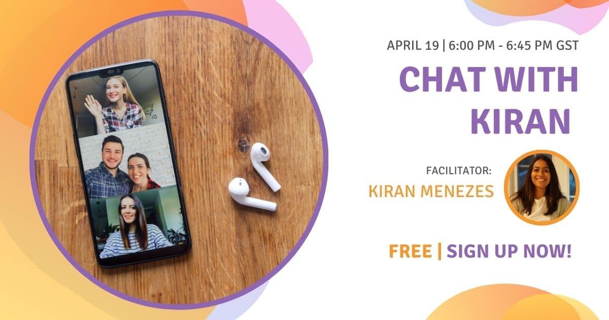 Chat with Kiran