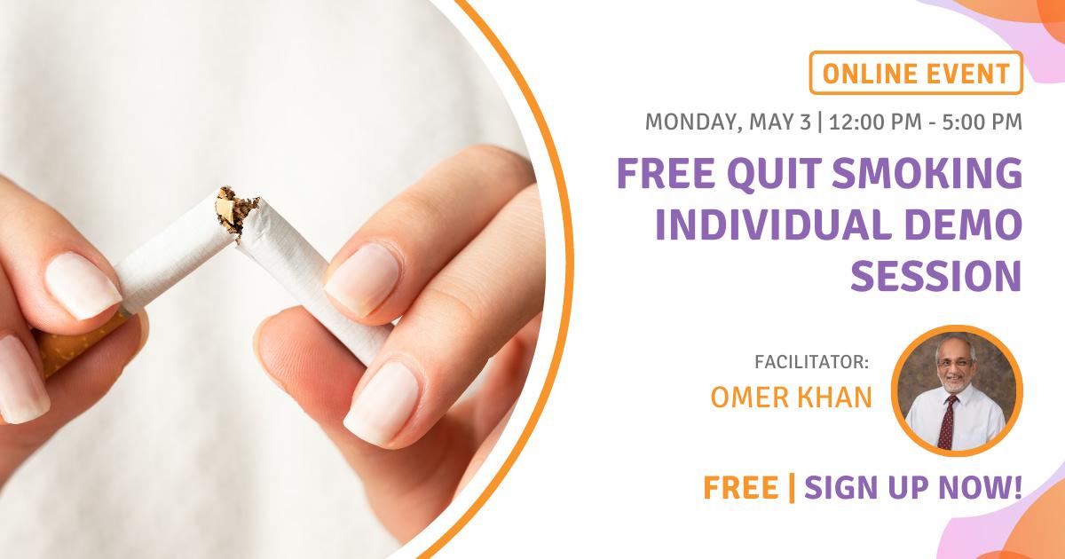 FREE Quit Smoking Individual Demo Session