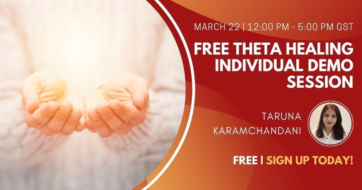 Free Theta Healing Individual Demo Session