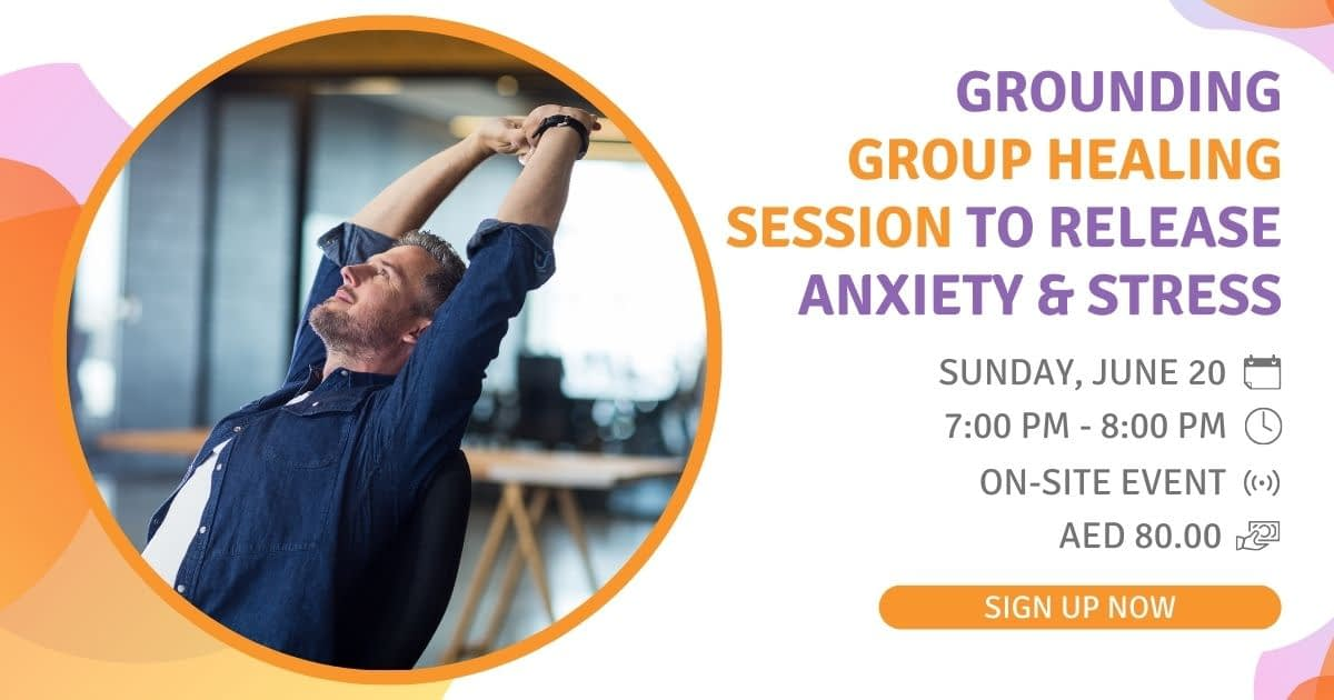 Grounding group Healing Session to Release Anxiety and Stress