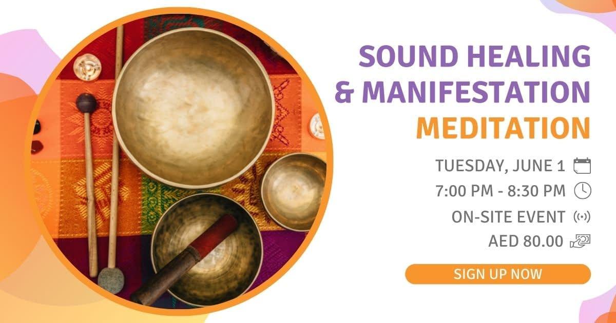 Sound Healing & Manifestation Meditation 1